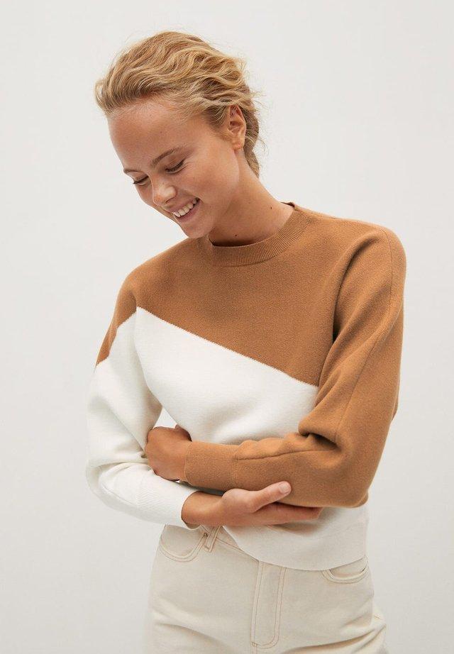 SPACE - Sweater - středně hnědá