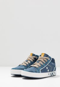 Geox - ALONISSO BOY - Zapatillas altas - avio/beige - 3