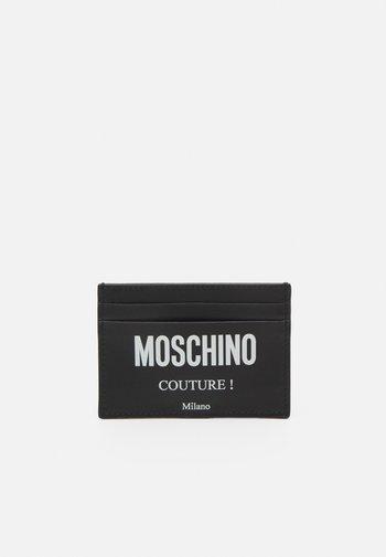 CARD CASE UNISEX - Peněženka - black