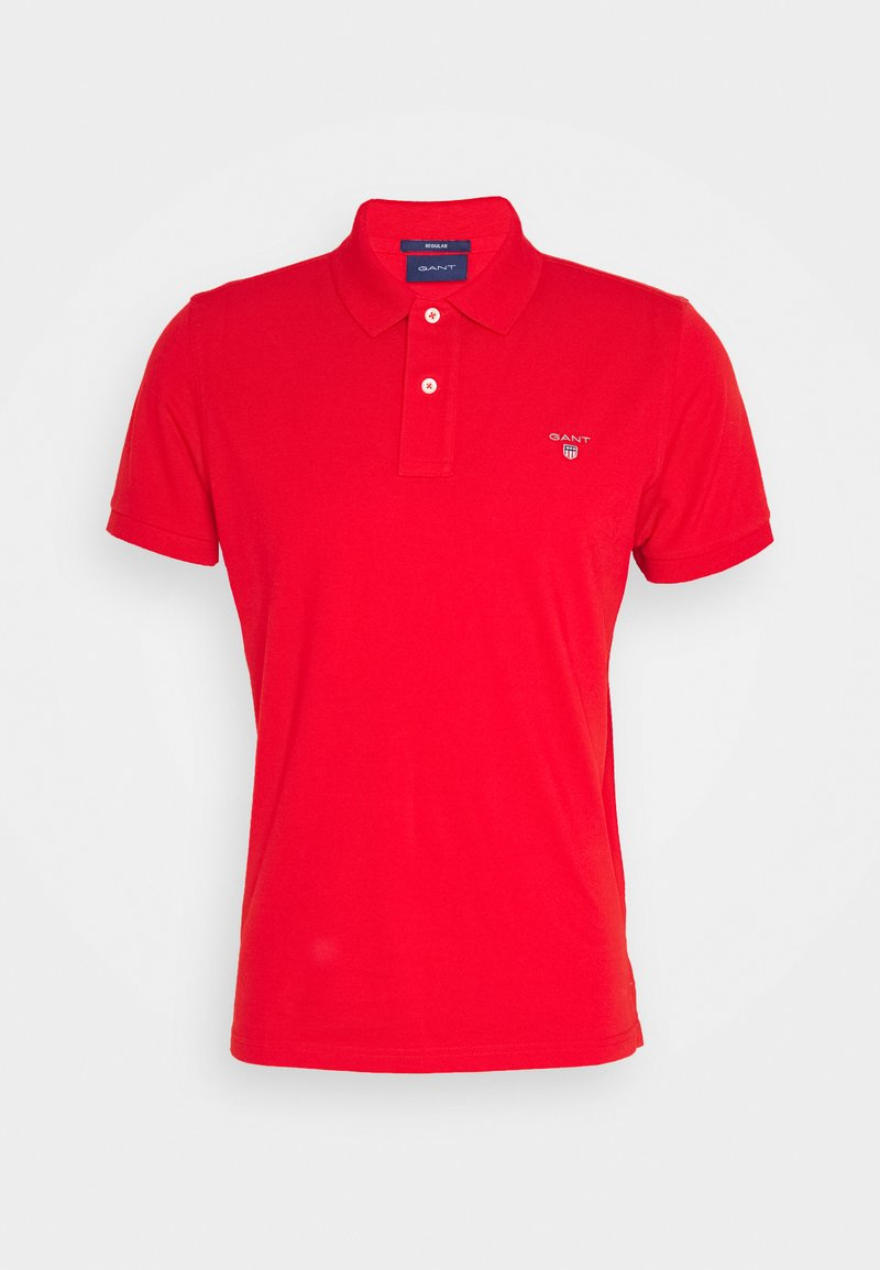 GANT - THE ORIGINAL RUGGER - Polo - fiery red