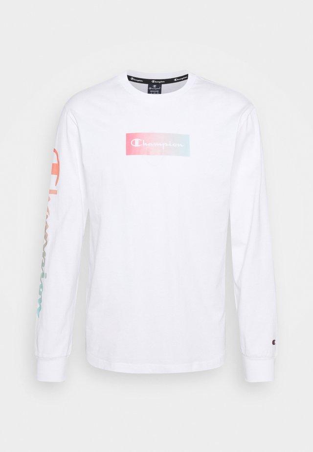CREWNECK LONG SLEEVE  - Maglietta a manica lunga - white