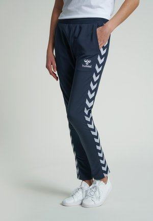 NELLY TAPERED  - Tracksuit bottoms - blue nights