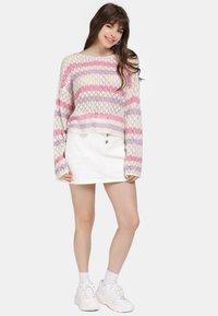 myMo - Jumper - beige/pink - 1