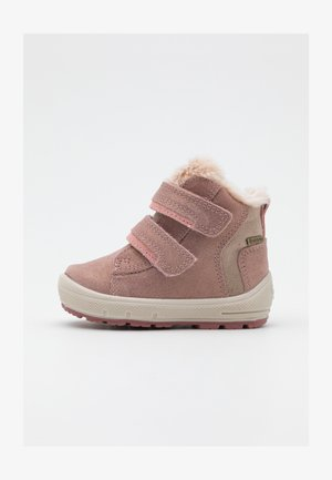 GROOVY - Winter boots - rosa/beige
