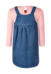 happy girls - SET - Denim dress - jeans blue - 1