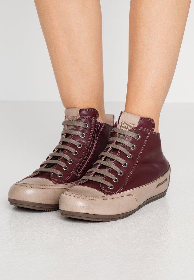 MID - Sneakers alte - sagar vinaccia/stone