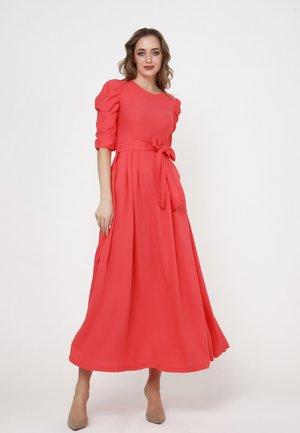 Maxi dress - coral