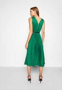 Closet - PLEATED DRESS - Day dress - forest green - 2