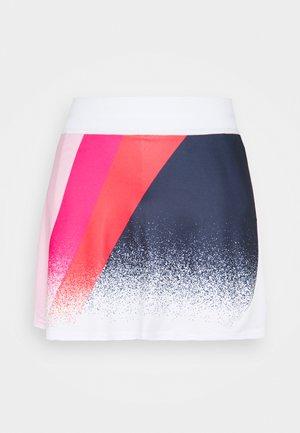 AREZZO SKORT - Sports skirt - white/pink multi