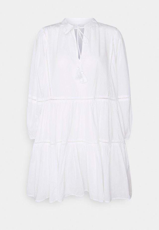 BEACH EDIT BAYSIDE LADDER TRIM DRESS - Ranta-asusteet - white