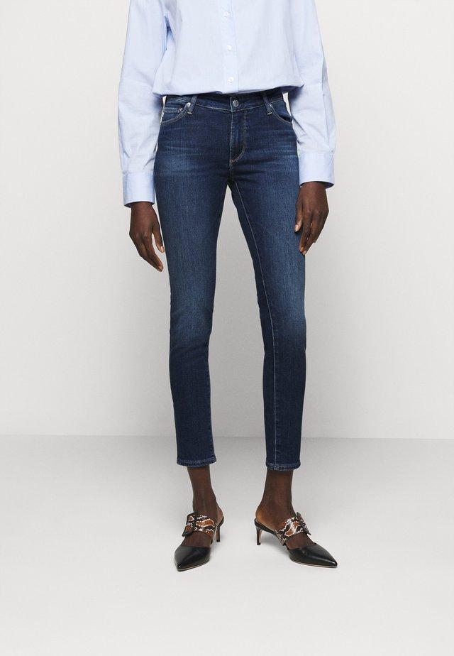 ANKLE - Jeans Skinny - blue denim