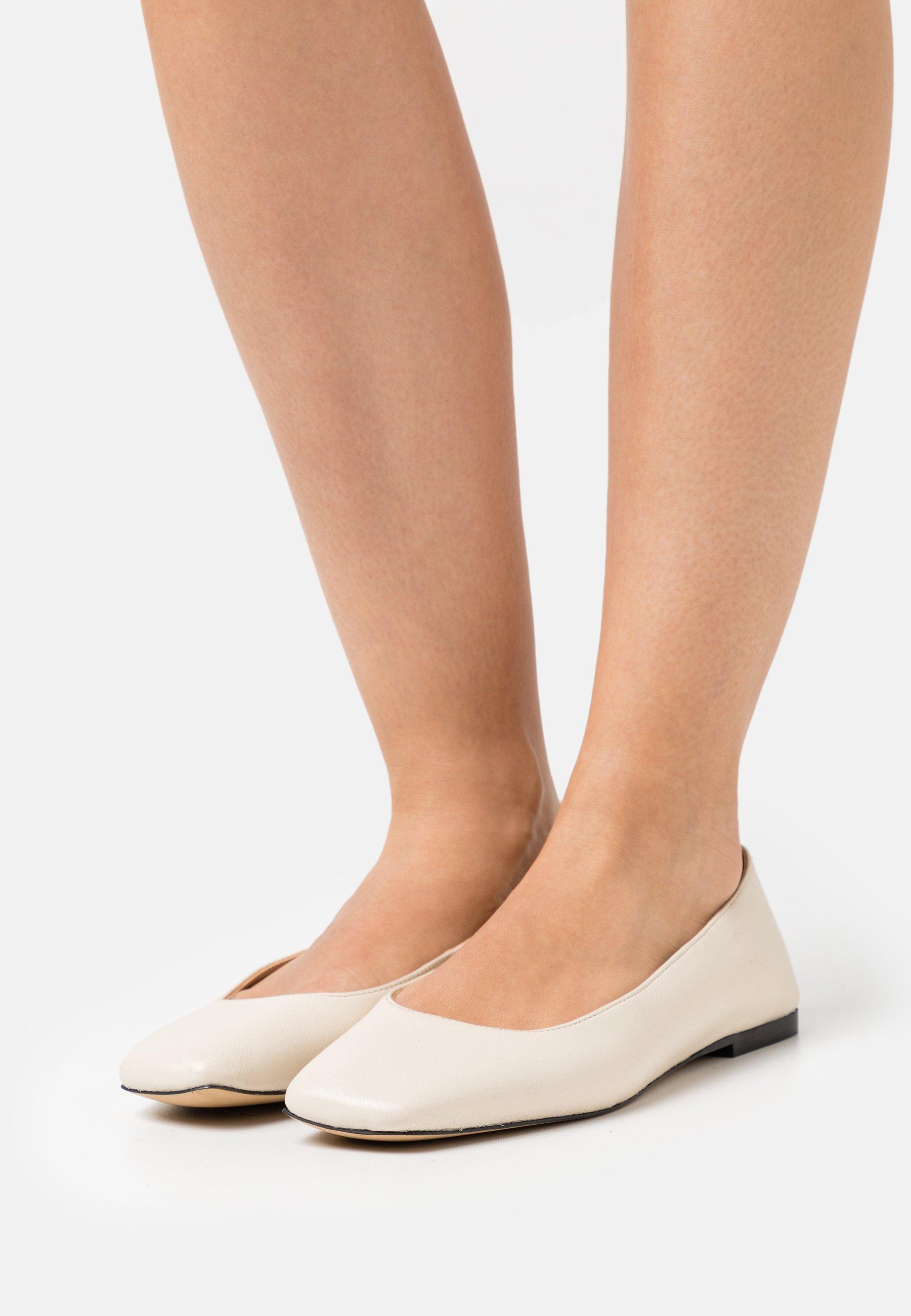 Women FRANCO - Ballet pumps - milk