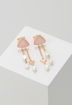FASHION - Earrings - rosegold-coloured