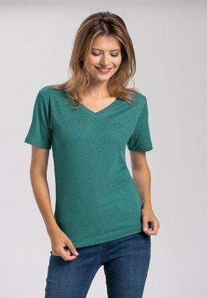T RIB - T-shirt basic - green
