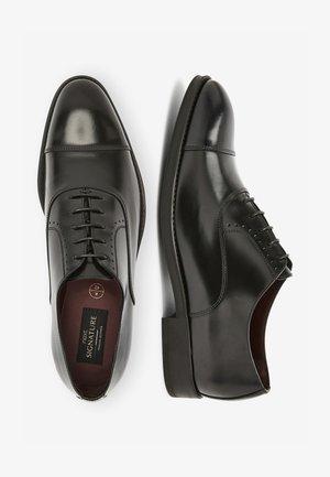 SIGNATURE ITALIAN  - Stringate eleganti - black