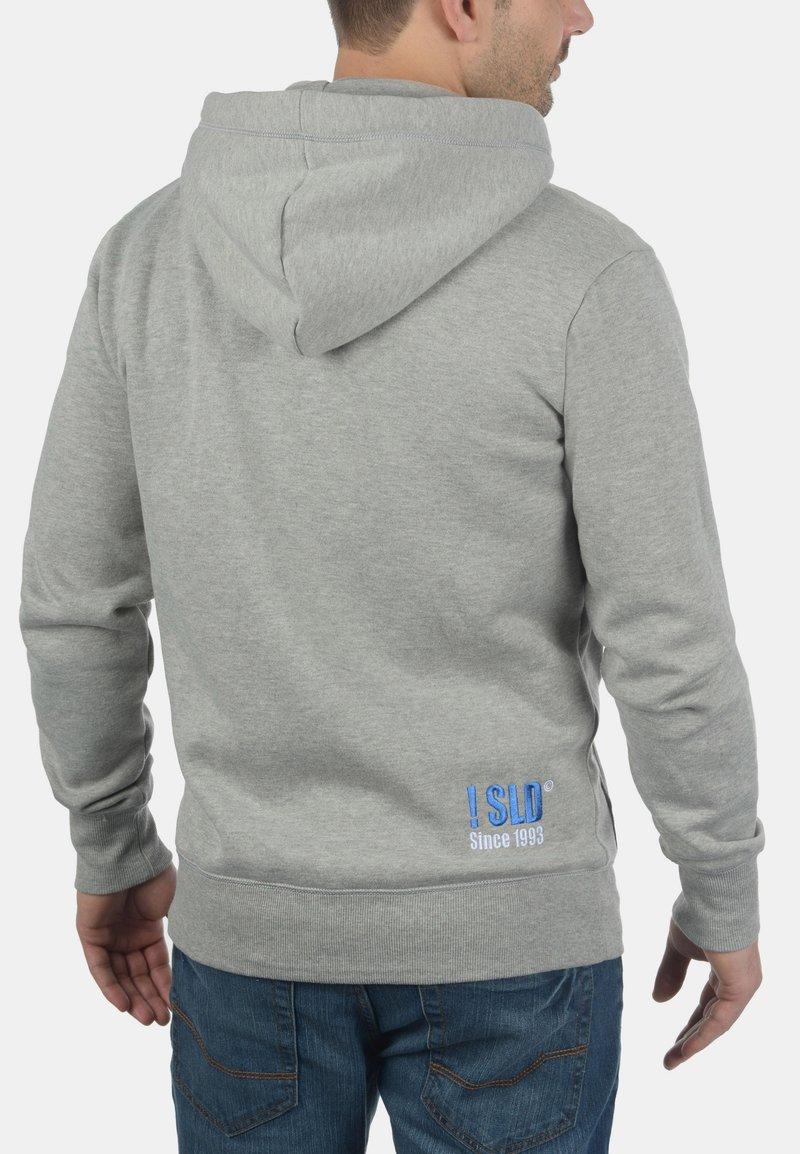 Solid BENN - Kapuzenpullover - light grey melange/hellgrau-meliert SUXMMX