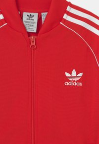 adidas Originals - TRACK UNISEX - Sportovní bunda - red/white - 2