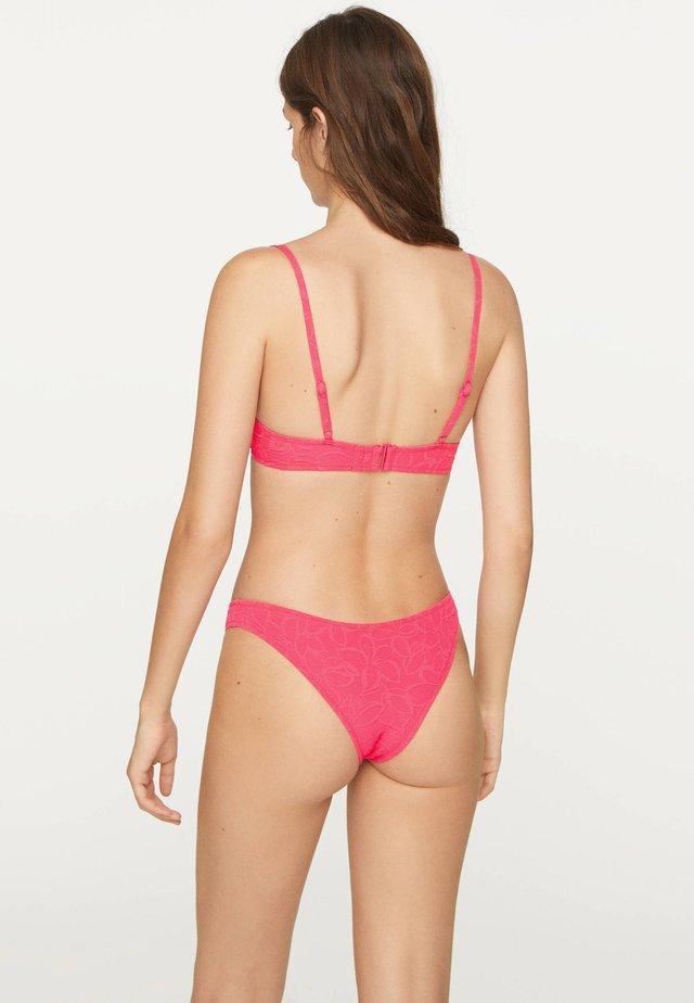 Bikini top - neon pink