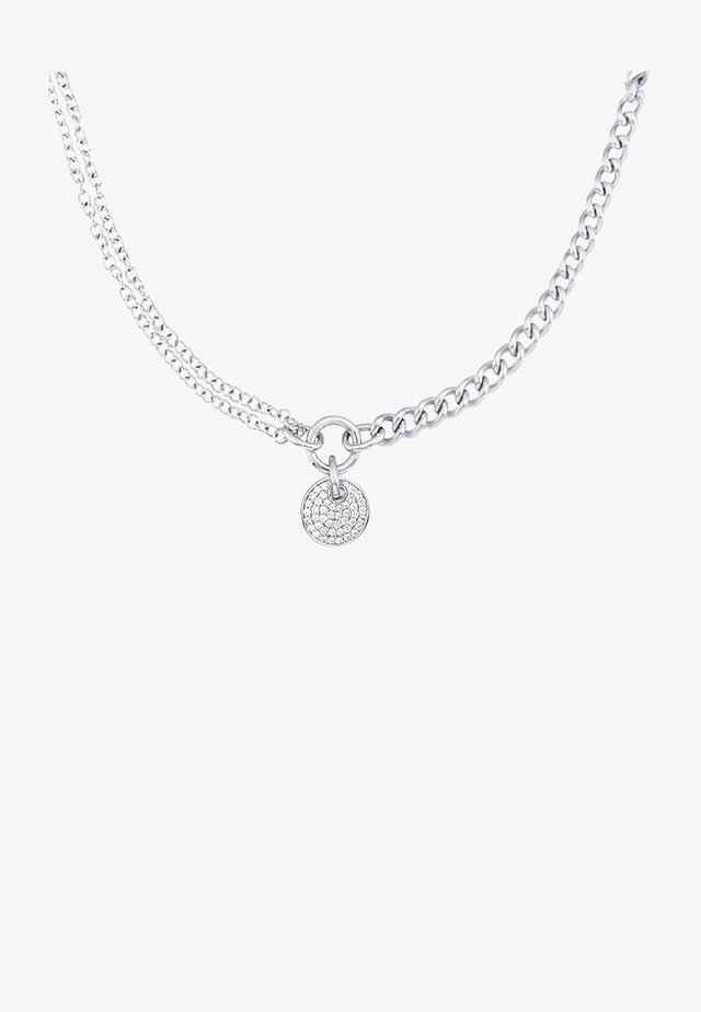 SILVER CHAIN REACTION    - Necklace - silver coloured