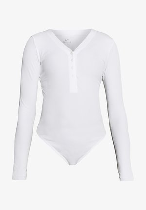 YOGA LUXE HENLEY BODYSUIT - Leotard - summit white
