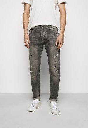 POCKETS PANT - Jeans Tapered Fit - grey