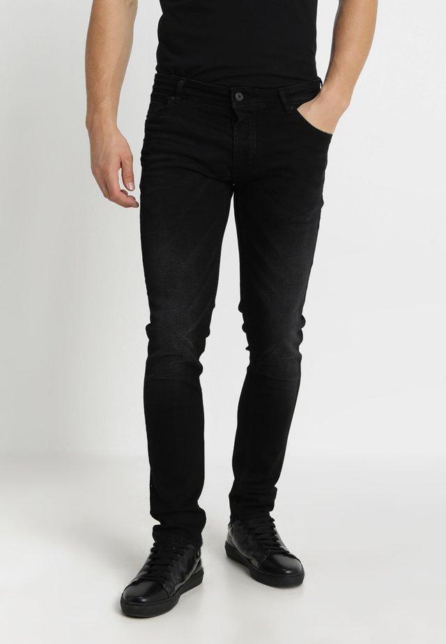 JOY - Jean slim - black denim