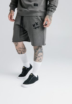 STEVE AOKI - Tracksuit bottoms - washed grey