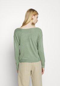 ONLY - ONLAMALIA BOATNECK - Jumper - hedge green - 2