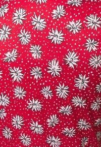 Missguided Tall - HALF BUTTON TEA DRESS - Maxi dress - red - 2
