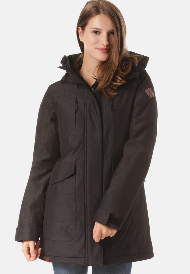 AVOCA - Winter coat - black