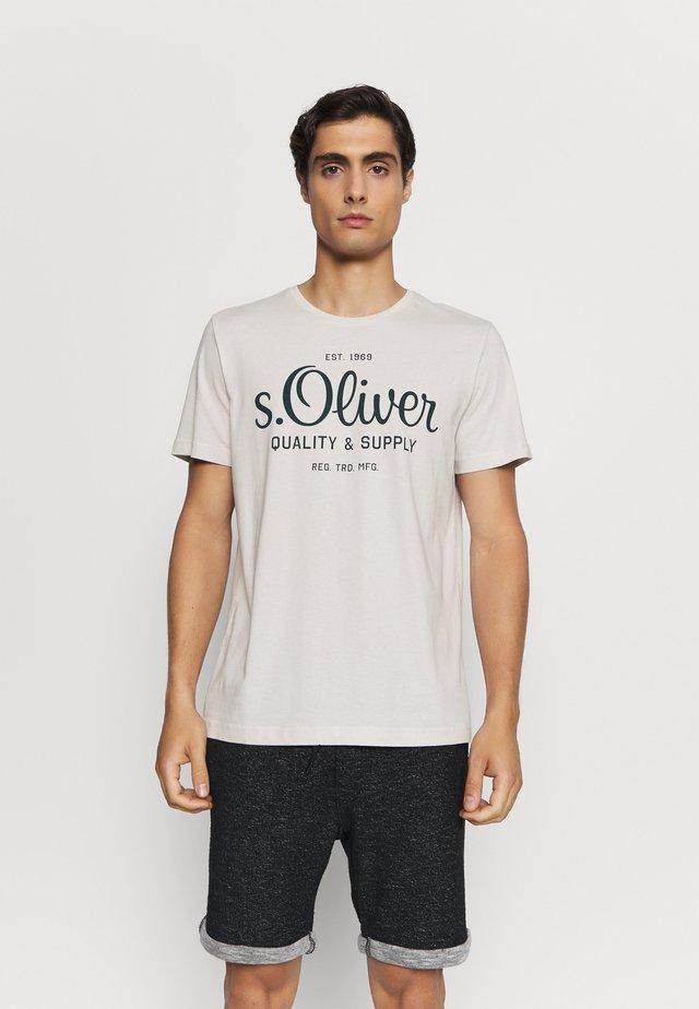 KURZARM - T-shirt imprimé - off-white