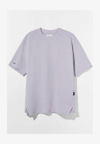 SHORT SLEEVE SWEAT - Basic T-shirt - mauve