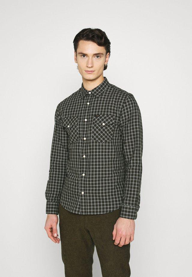 CLEAN WESTERN SHIRT - Shirt - serpico green