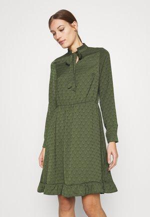 DRESS CLOTILDE - Day dress - dark green