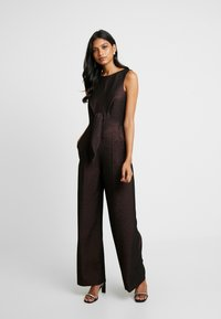 Closet - TIE FRONT - Tuta jumpsuit - rose gold - 1