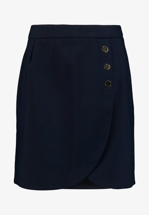 LAROUND - Mini skirt - bleu marine