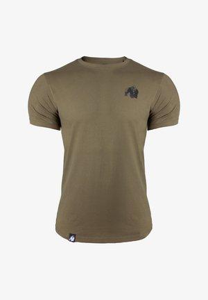 4-2-D - T-shirt basic - dark green