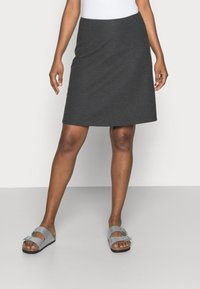 Freequent - Áčková sukně - dark grey melange - 0