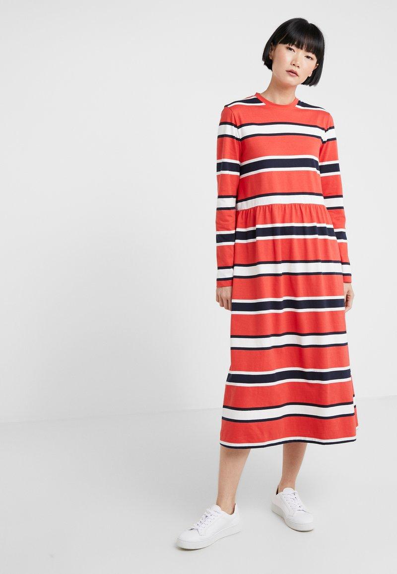 Libertine-Libertine - ZINK - Jersey dress - red stripe