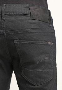 G-Star - 3301 STRAIGHT - Jean droit - black pintt stretch denim - 4