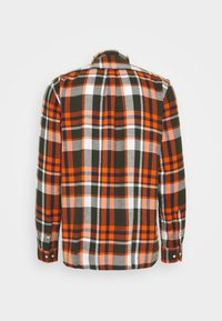 KnowledgeCotton Apparel - LARCH CHECKED - Shirt - forrest night - 1
