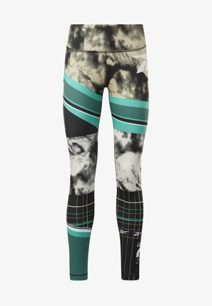 MYT ENGINEERED LEGGINGS - Tights - green