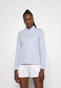 Nike Golf - Zip-up sweatshirt - ghost/white - 0