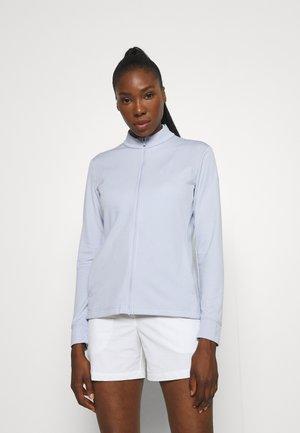Zip-up sweatshirt - ghost/white