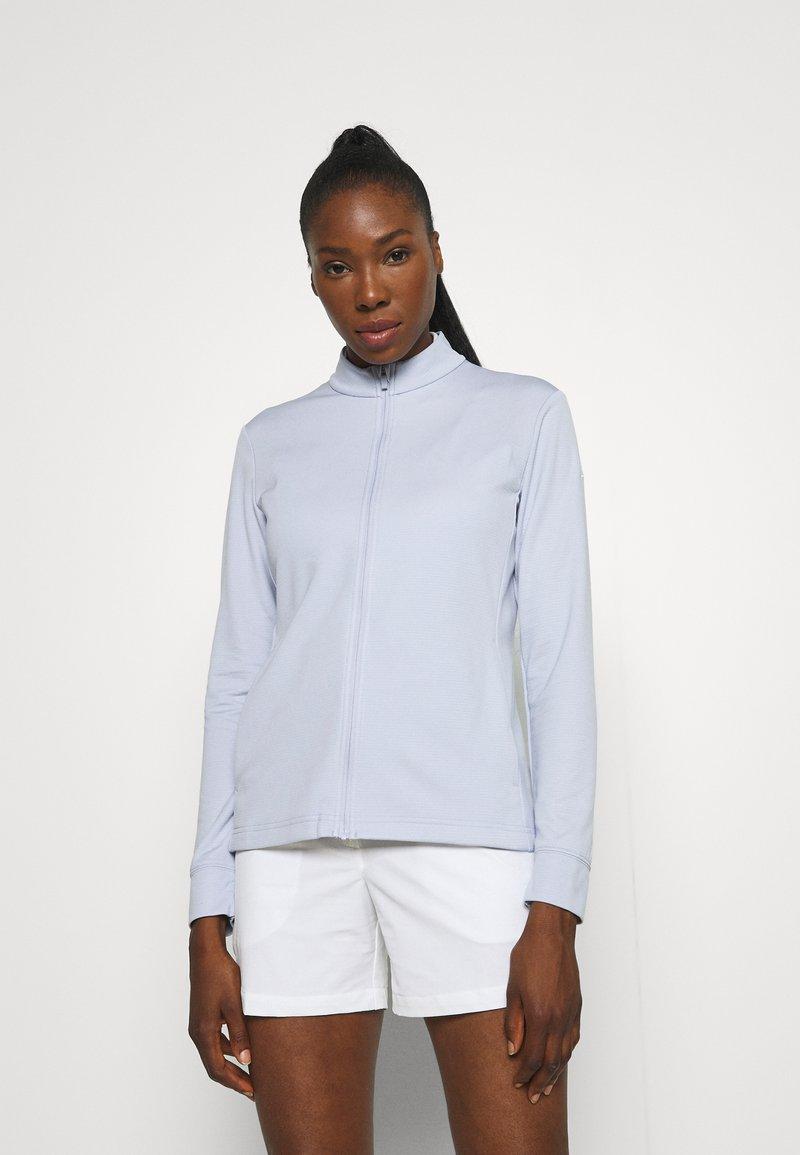 Nike Golf - Zip-up sweatshirt - ghost/white