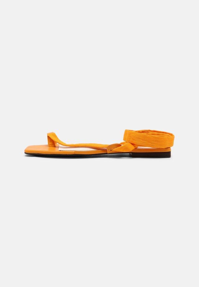 BROOKE - T-bar sandals - radient yellow