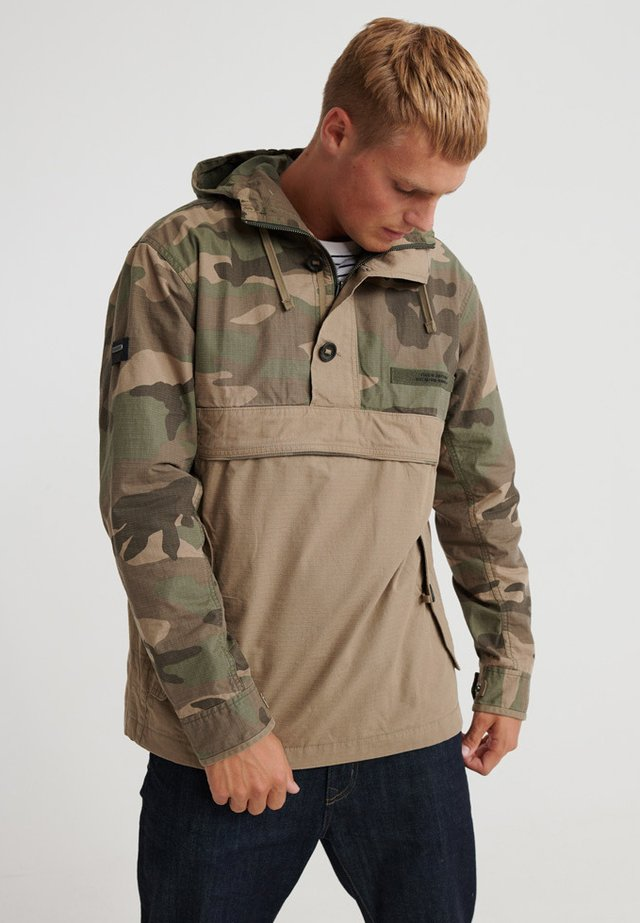 Windbreaker - brown