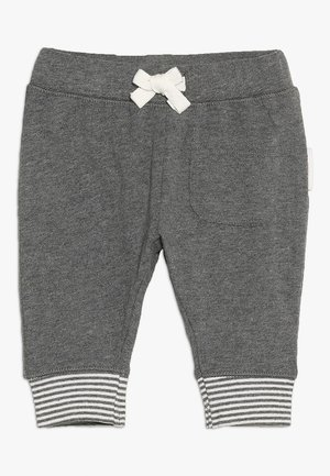 PANTS RELAXED QOLORA BABY - Trousers - grey melange