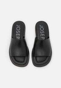 Joseph - SOFTY POOL SLIDE - Mules - black - 4