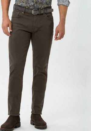 STYLE CHUCK - Slim fit jeans - khaki